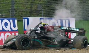 Χαμός στην Formula 1: Σοβαρό ατύχημα στην Ίμολα και ένταση ανάμεσα σε Ράσελ και Μπότας