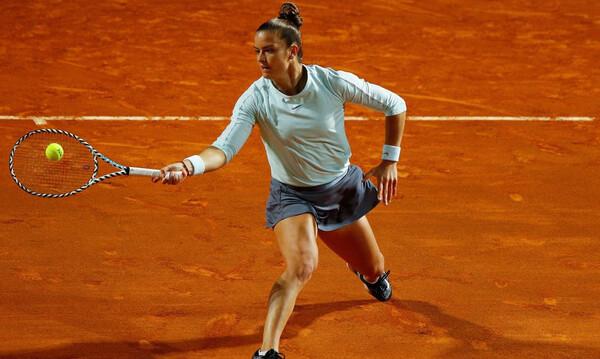 Τένις: Η Πέτκοβιτς πρώτη αντίπαλος της Σάκκαρη στο χώμα