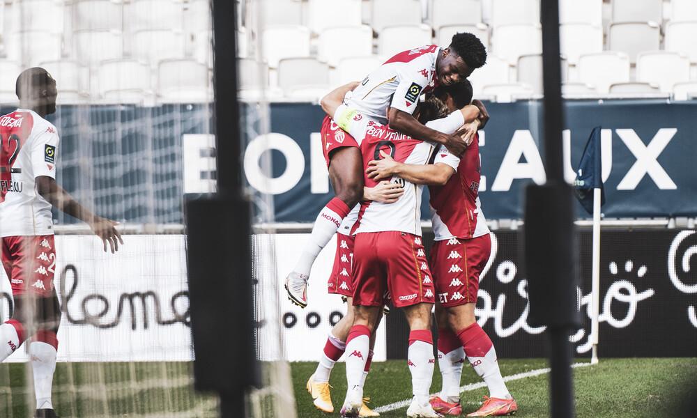 Ligue 1: Περίπατος η Μονακό και σε απόσταση βολής για τον τίτλο!