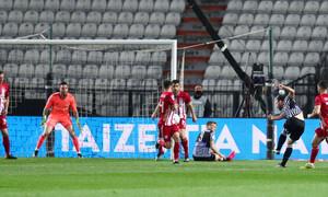 ΠΑΟΚ-Ολυμπιακός: Τραγικό λάθος ο Αβραάμ, γκολ ο Ζίβκοβιτς (videos+photos)