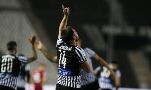 ΠΑΟΚ-Ολυμπιακός: Πήρε «φωτιά» ο Ζίβκοβιτς - Απίθανη ενέργεια και γκολ (video+photos)
