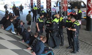 Κύπελλο Ολλανδίας: Χαμός πριν τον τελικό – Επεισόδια οπαδών Φέγενορντ-Άγιαξ! (video+photos)