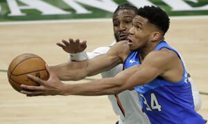 NBA: Δεν άντεξε να... κουβαλάει ο Γιάννης - Ήττα για Μπακς (photos+video)