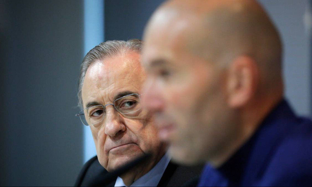 Ρεάλ Μαδρίτης: Ο Πέρεθ θέλει να κρατήσει τον Ζιντάν (photos)