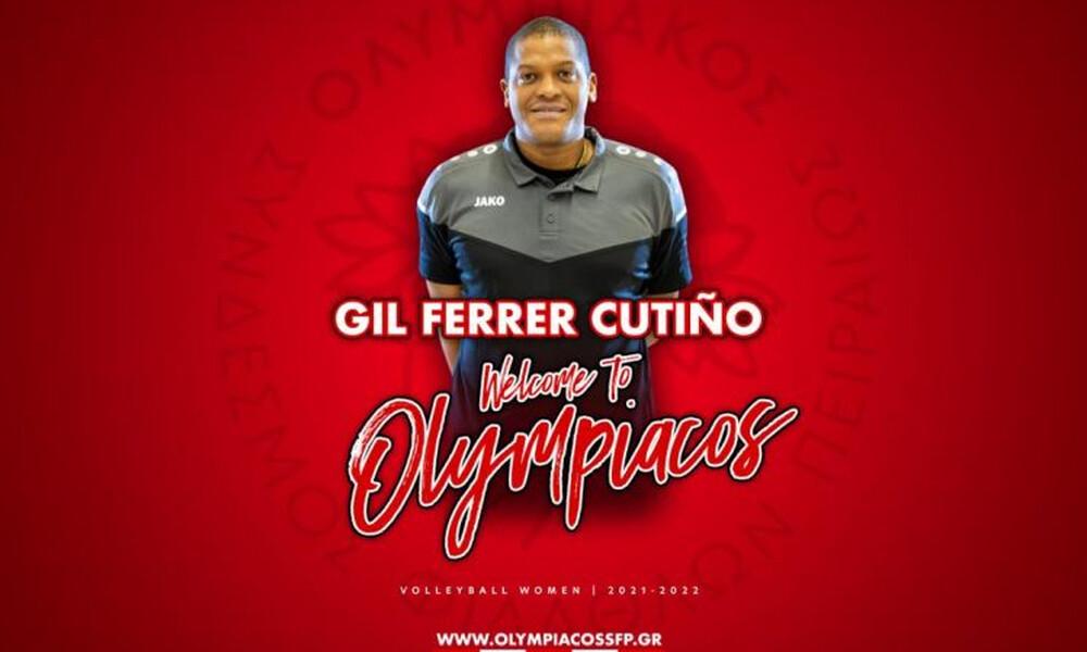 Bόλεϊ γυναικών: Νέος προπονητής του Ολυμπιακού ο Χιλ Φερέρ Κουτίνιο