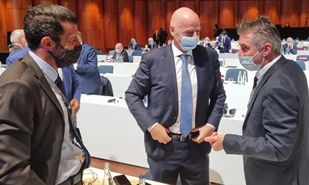Εθνική Ελλάδας: Συμφωνία για νέο προπονητικό κέντρο με χρηματοδότηση από FIFA-UEFA