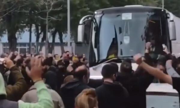 Άρης: Πανικός στο «Βικελίδης» - Οπαδικές ντόπες εν όψει ΠΑΟΚ (video+photos)
