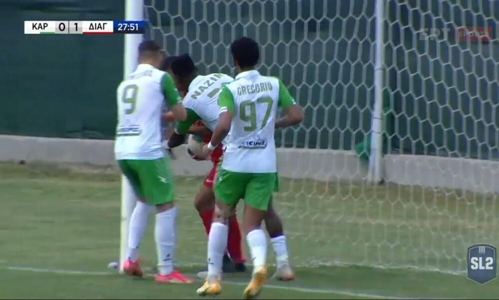Καραϊσκάκης-Διαγόρας: Δίλεπτο γκολ στην Άρτα (video)