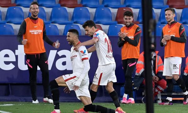 "La Liga: Ανέβηκε 3η η Σεβίλλη, ""έπιασε"" Ρεάλ και ονειρεύεται! (Videos+Photos)"