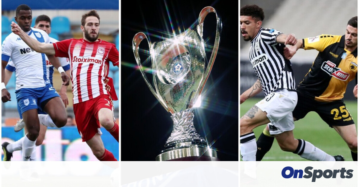Greek Cup: The rematch of the semifinals has been set