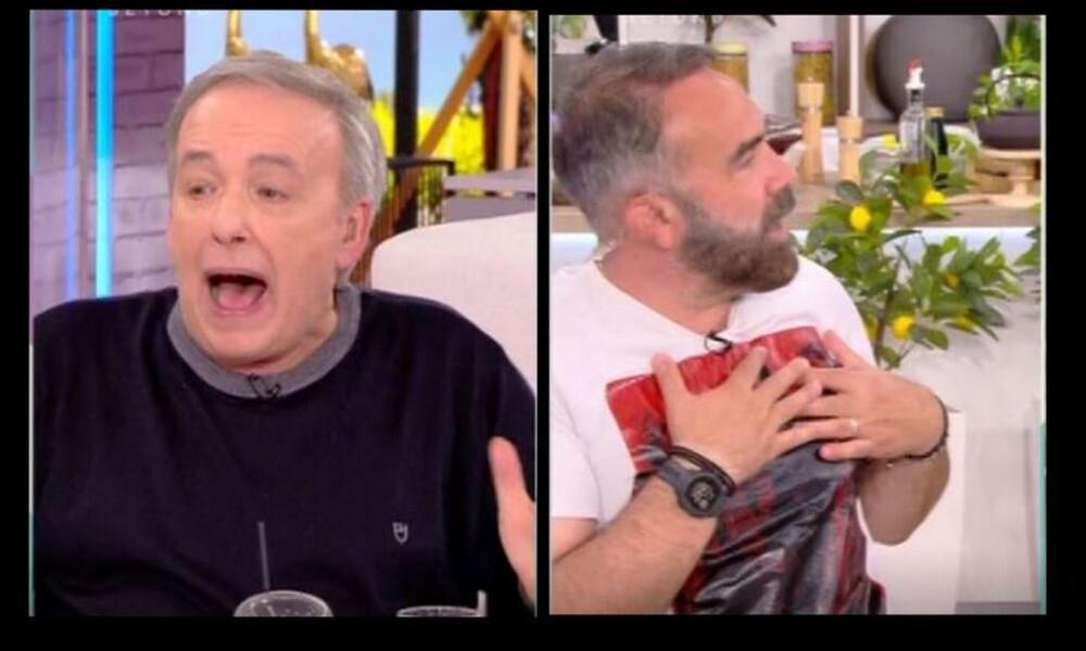 Ευτυχείτε: Μεγάλη ένταση μεταξύ Μικρούτσικου και Γκουντάρα on air - Τι συνέβη;