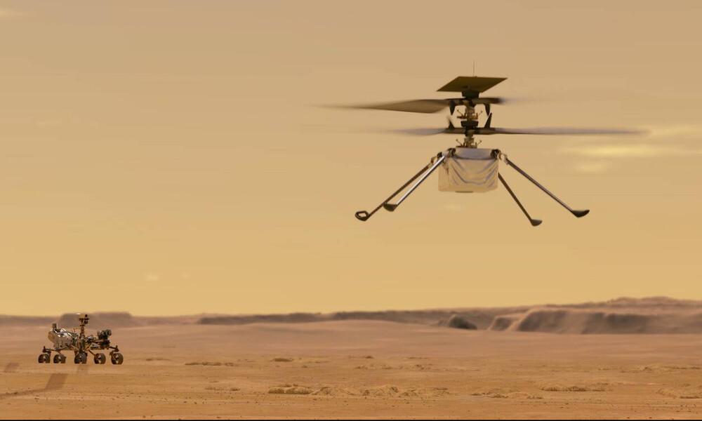 Παραγωγή οξυγόνου στον Άρη από το Perseverance της NASA