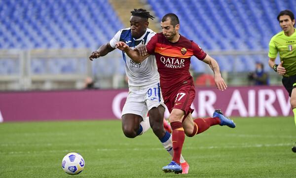 Serie A: Χαμένοι και οι δύο με την ισοπαλία στο Ρόμα-Αταλάντα! (Video+Photos)