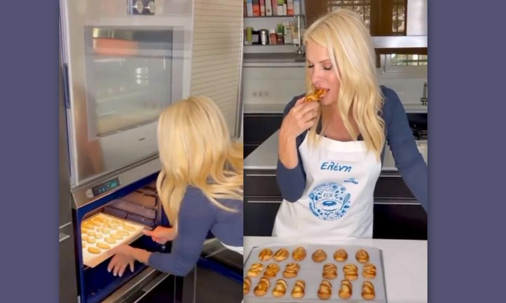 Μενεγάκη: Καρέ καρέ η συνταγή της για Πασχαλινά κουλουράκια με γεύση τσουρέκι!