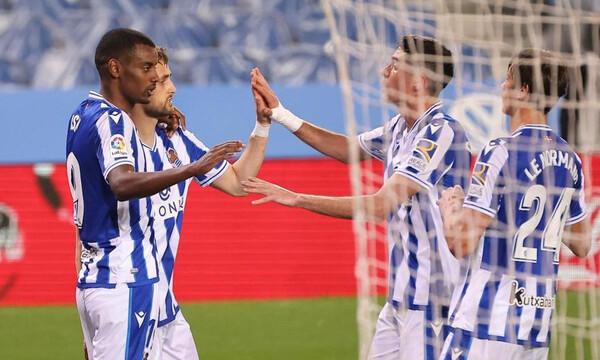 La Liga: Ανέβηκε 5η η Σοσιεδάδ, εύκολη επικράτηση για Γρανάδα (Videos+Photos)