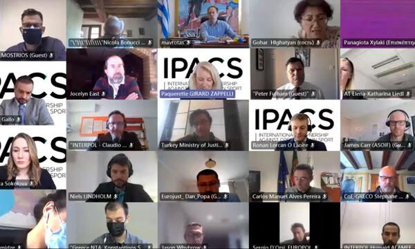 Συμμετοχή του Μαυρωτά σε τηλεδιάσκεψη της Διεθνούς Ένωσης κατά της Διαφθοράς στον Αθλητισμό