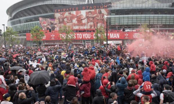 Άρσεναλ: Οργή λαού στο «Emirates»-Ζητούν αλλαγή ιδιοκτησίας λόγω ESL! (Videos+Photos)