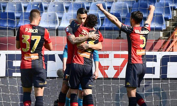 Serie A: Νίκησε και «σφράγισε» τη σωτηρία της η Τζένοα!