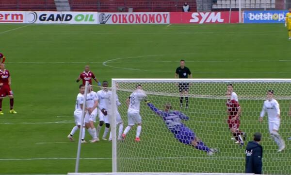 ΑΕΛ-ΟΦΗ: Τρομερή απόκρουση του Βάτερμαν, κράτησε το 0-1! (video)