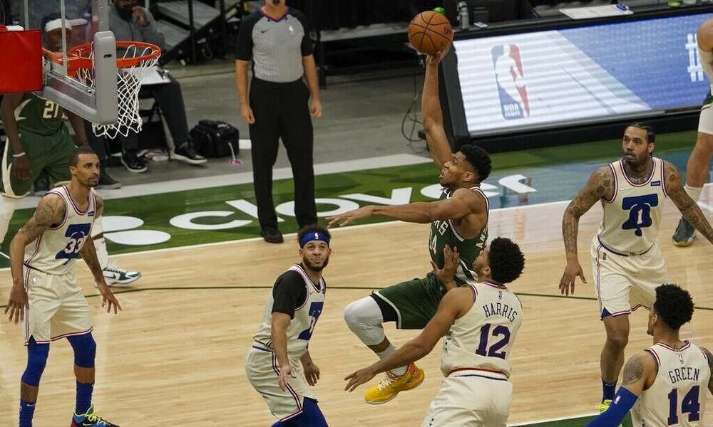 NBA: Δεν είχε πάρει… χαμπάρι το ρεκόρ ο Αντετοκούνμπο (photos+videos)