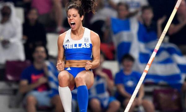 Κατερίνα Στεφανίδη:  Ντεμπούτο με άλμα στα 4.60 μέτρα