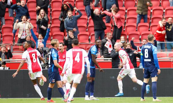 Eredivisie: Ο Κλάασεν έβαλε σφραγίδα στο 35o πρωτάθλημα του Άγιαξ! (video+photos)