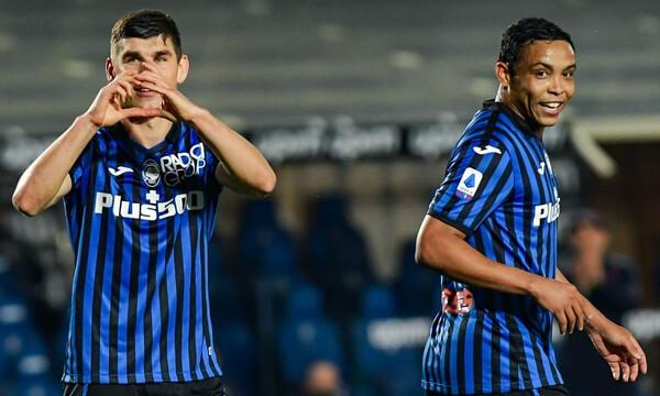 Serie A: Δεύτερη η ασταμάτητη Αταλάντα! (Video)