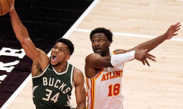 NBA: Λύγισαν οι Μπακς - Τρομερή εμφάνιση Αντετοκούνμπο (photos+video)