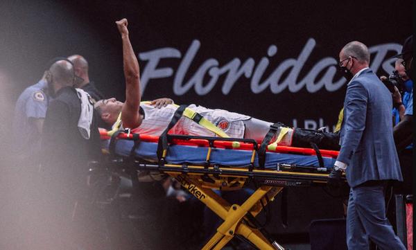 NBA: Φρικιαστικός τραυματισμός - Μεγάλος άτυχος ο Κάναντι των Μάτζικ (video+photos)