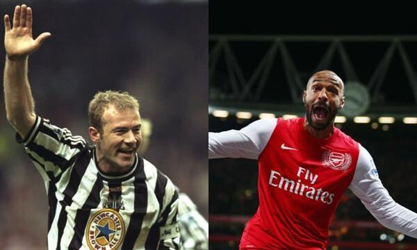 Premier League: Σίρερ και Ανρί οι πρώτοι παίκτες στο Hall of Fame (photos+video)