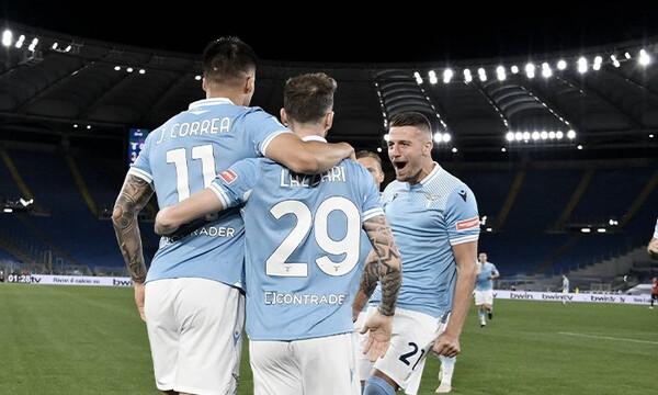 Serie A: «Πάρτι» από την Λάτσιο και «σφαλιάρα» στην Μίλαν - Όλα τα γκολ και η βαθμολογία