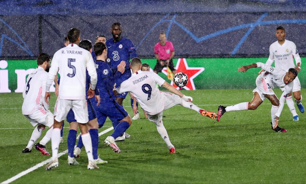 Ρεάλ Μαδρίτης-Τσέλσι: Πρώτα δοκάρι ο Μπενζεμά και μετά 1-1 με γκολάρα! (video)