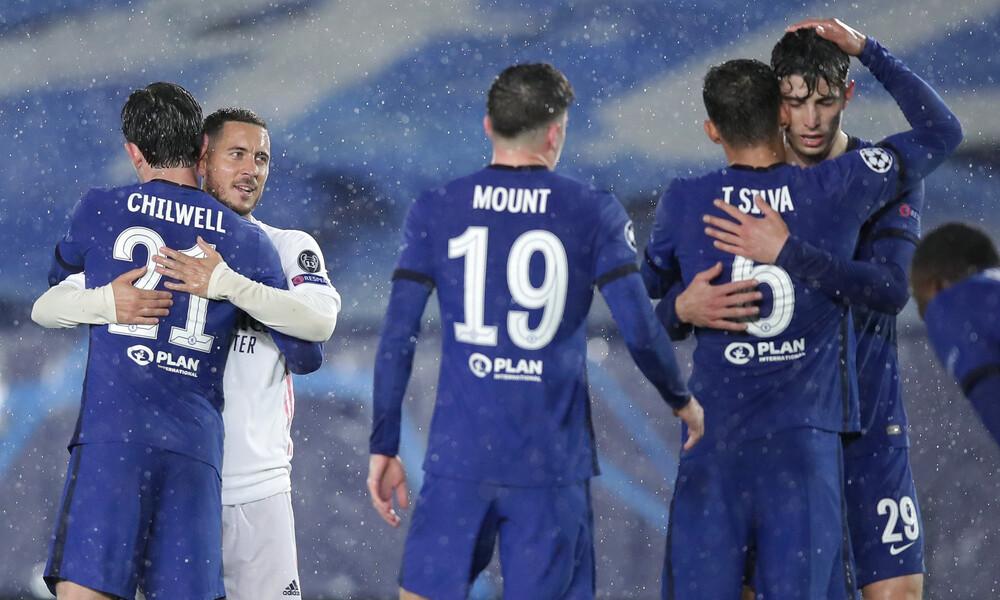 Champions League: Όλα δείχνουν Τσέλσι στον τελικό! – Κακός οιωνός το 1-1 για Ρεάλ Μαδρίτης (video)