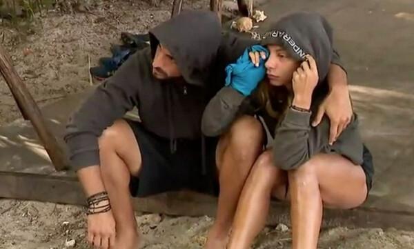 Survivor: Μαζί σε αγώνα του Παναθηναϊκού Σάκης και Μαριαλένα (video)