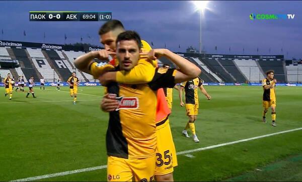 ΠΑΟΚ-ΑΕΚ: Μεγάλη κίνηση Χιμένεθ και 0-1 ο Γαλανόπουλος (video+photos)