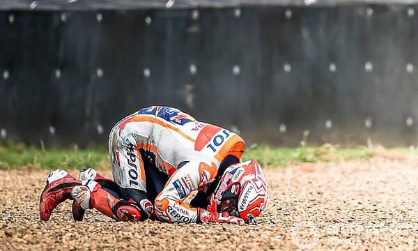 Moto GP: Νέο ατύχημα για Μαρκέθ - Τρομακτικές εικόνες (photos+video)