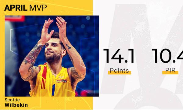 Μακάμπι Τελ Αβίβ: MVP για τον Απρίλιο ο Ουίλμπεκιν (video)