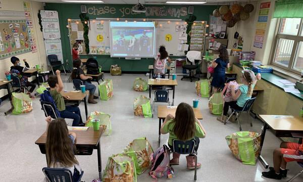 Μάθημα… ΠΑΟΚ σε σχολείο στις ΗΠΑ!