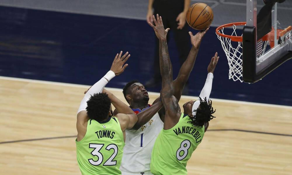 NBA: Τρομακτικός Ζάιον (photos+video)