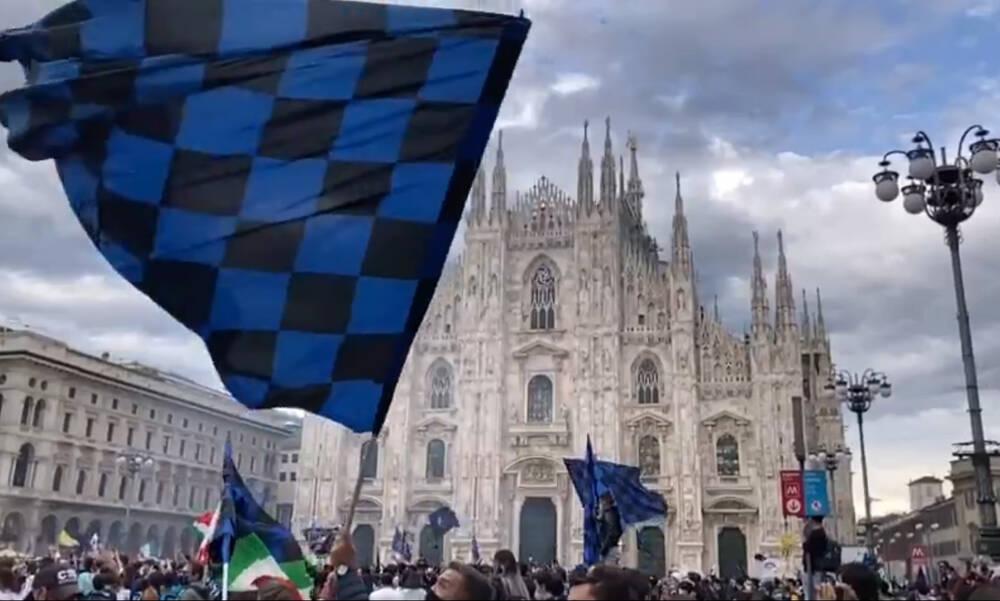 «Κάηκε» το Μιλάνο για την πρωταθλήτρια Ίντερ (photos+video)