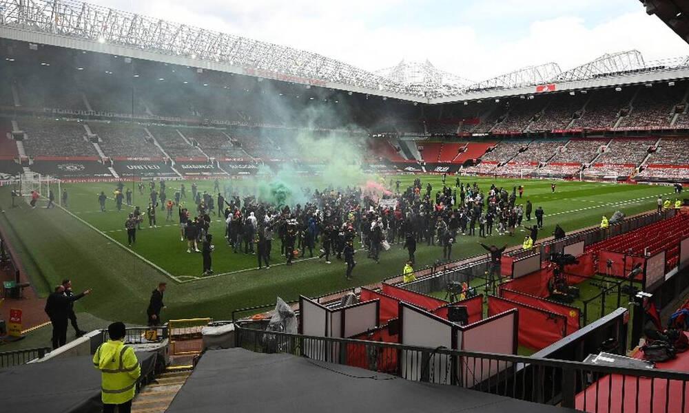 Μάντσεστερ Γιουνάιτεντ-Λίβερπουλ: Video από τις συμπλοκές στο Old Trafford - Τραυματίας αστυνομικός