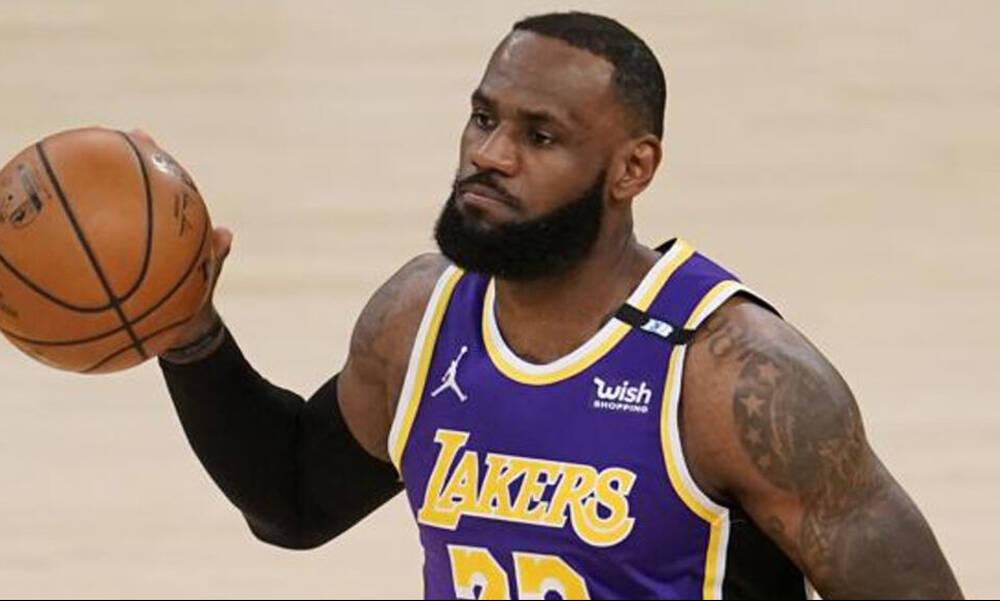 NBA: Αγωνία για Λεμπρόν στους Λέικερς