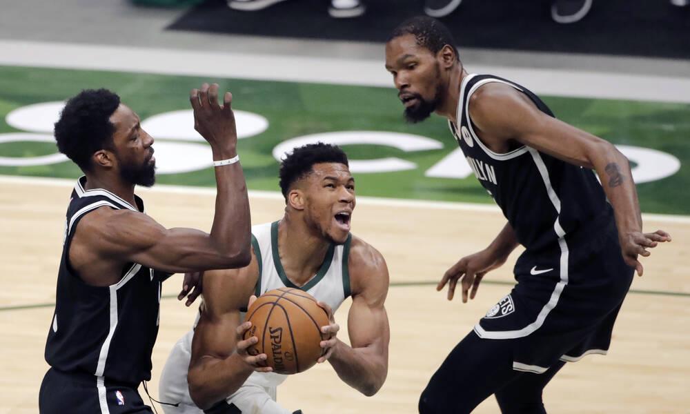 NBA: Νέα νίκη Μπακς επί των Νετς με μυθικό Αντετοκούνμπο (videos)