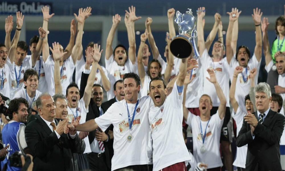 ΑΕΛ: Ο θρίαμβος και η κούπα στον τελικό με τον Παναθηναϊκό (video+photos)