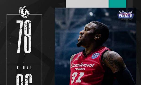 Basketball Champions League: Πέταξε εκτός την οικοδέσποινα Νίζνι η Σαραγόσα