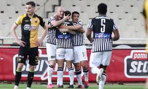 ΑΕΚ-ΠΑΟΚ: Ασπρόμαυρο ξέσπασμα και 0-2 - Δύο γκολ σε 4 λεπτά (photos+videos)