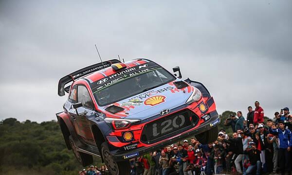 WRC: Ανανέωσαν στη Hyundai οι Νεβίλ και Τάνακ