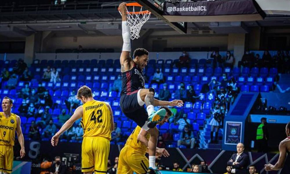 Basketball Champions League: «Βόμβα» από την Στρασμπούρ - Πέταξε εκτός τετράδας την Τενερίφη