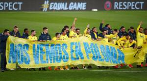 Europa League: Τα πανηγύρια της Βιγιαρεάλ του… θαυματουργού Έμερι! (Photos)