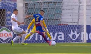 ΝΠΣ Βόλος-ΑΕΛ: Ο Δουβίκας έκανε το 1-0 και σπρώχνει στον γκρεμό τους «βυσσινί»! (video)